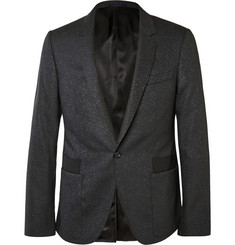 Lanvin Grey Slim-Fit Stretch Wool and Silk-Blend Suit Jacket