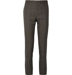 Lanvin Slim-Fit Checked Woven Trousers
