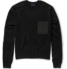 Lanvin Wool and Cotton-Blend Sweater