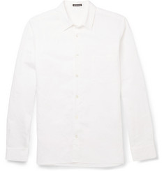 Ann Demeulemeester Cotton and Linen-Blend Shirt
