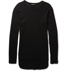 Ann Demeulemeester Ribbed Cotton-Jersey T-Shirt