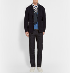 Gucci Striped Cotton-Jersey Scarf