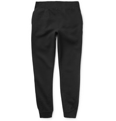 Alexander Wang T by Alexander Wang Fleece-Backed Cotton-Jersey Sweatpants