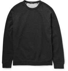 Alexander Wang - T by Alexander Wang Fleece-Backed Cotton-Jersey Sweatshirt