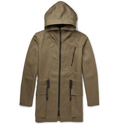 Christopher Raeburn Funnel-Collar Cotton-Twill Parka