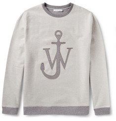 J.W.Anderson Loopback Cotton-Blend Sweatshirt