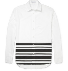 J.W.Anderson Stripe-Trimmed Cotton Shirt
