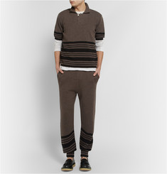 J.W.Anderson Striped Wool-Blend Sweatpants