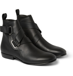 Lanvin Leather Jodhpur Boots