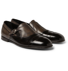 Dolce & Gabbana Leather Monk-Strap Shoes