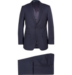 Thom Sweeney Navy Weighhouse Wool Suit