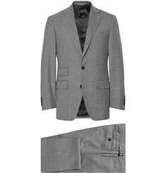 Thom Sweeney Grey Weighouse Wool Three-Piece Suit