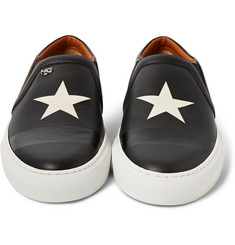 Givenchy Skate Shoes in Star-Print Leather
