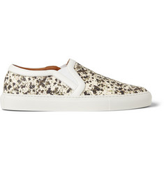 Givenchy Skate Shoes in Floral-Print Leather