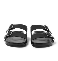 Givenchy Rubberised Leather Sandals