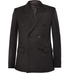 Givenchy Black Wool-Twill Blazer