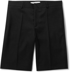 Givenchy Wool-Twill Shorts