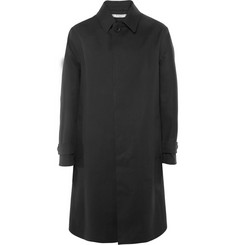 Givenchy Panelled Coated Cotton-Blend Coat