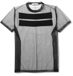 Givenchy Appliquéd Mesh T-Shirt