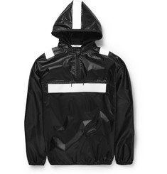 Givenchy Band-Trimmed Shell Hoodie