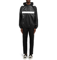 Givenchy Band-Trimmed Shell Hooded Jacket