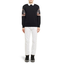 Givenchy Slim-Fit Dry-Denim Jeans