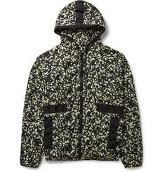 Givenchy Floral-Print Hooded Jacket