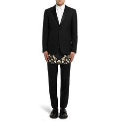 Givenchy Slim-Fit Floral-Print Skirt