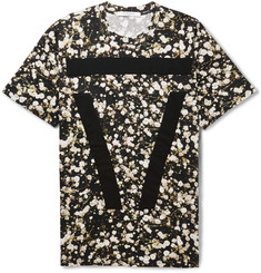 Givenchy Floral-Print Cotton T-Shirt