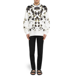 Givenchy Floral-Print Cotton-Jersey Sweatshirt