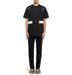 Givenchy Band-Trimmed Cotton-Jersey T-Shirt