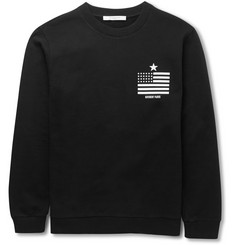 Givenchy Flag-Print Cotton Sweatshirt