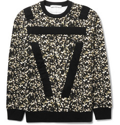 Givenchy Columbian-Fit Botanical-Print Fleeceback Cotton-Jersey Sweatshirt