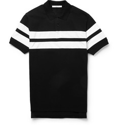 Givenchy Striped Cotton Polo Shirt