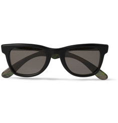 Jimmy Choo Camouflage-Print Square-Frame Sunglasses