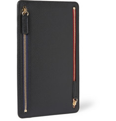 Smythson - Panama Leather Currency Case