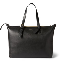 Smythson Grained-Leather Tote Bag
