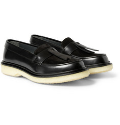 Adieu Type 32 Crepe-Sole Leather Loafers