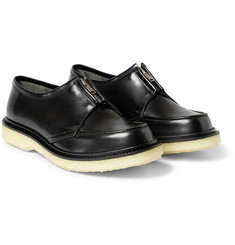 Adieu Type 37 Crepe-Sole Leather Derby Shoes