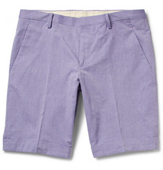 Paul Smith London Woven Cotton Shorts