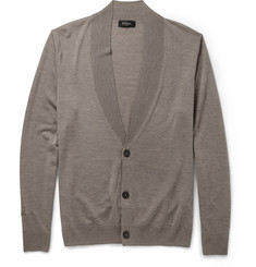 Paul Smith London Merino Wool Shawl-Collar Cardigan