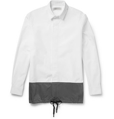 Public School Drawstring Cotton-Poplin Shirt