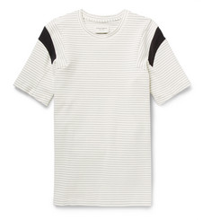Public School Striped Cotton-Blend Jersey T-Shirt