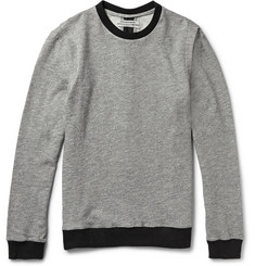 Public School Zip-Detailed Loopback Cotton-Blend Jersey Sweatshirt