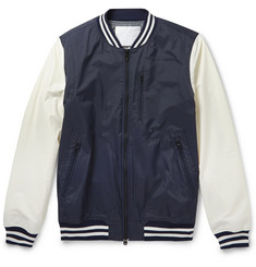 White Mountaineering Waterproof Lightweight Bomber Jacket