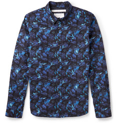 White Mountaineering Printed Cotton Shirt