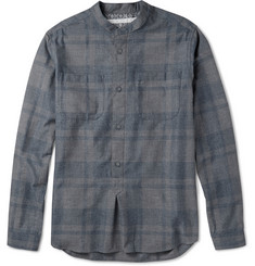 White Mountaineering Checked Cotton Shirt