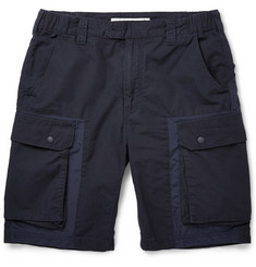 White Mountaineering Ripstop Cotton Cargo Shorts