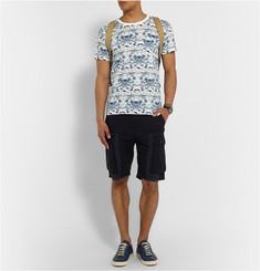 White Mountaineering Printed Cotton T-Shirt