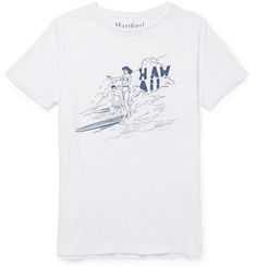 Hartford Printed Cotton-Jersey T-Shirt